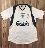 Liverpool 2001 Super Cup Final Shirt