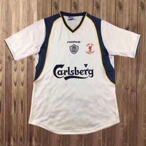 Liverpool 2001 Super Cup Final Shirt