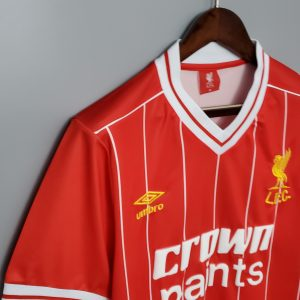 1982 Liverpool Home Shirt