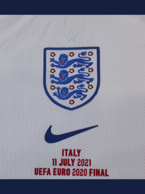 England Euros 2020 shirt