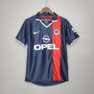 PSG 01/02 Home Shirt