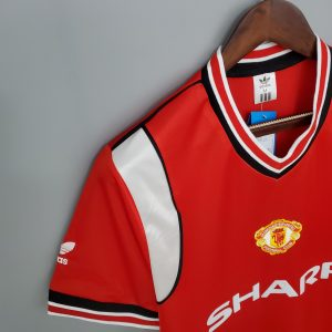 Manchester United 1984-06 Home Shirt