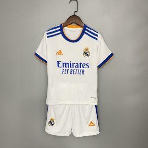 Kids Real Madrid 21/22 Home Kit