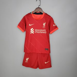 Kids Liverpool 21/22 Home Kit