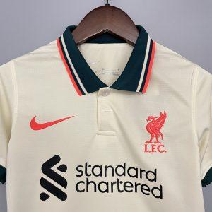 Kids Liverpool 21/22 Away Kit