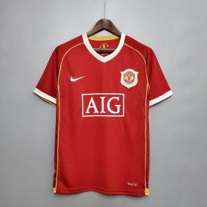 Man United 06/07 Home Shirt