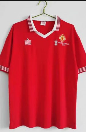 Manchester United 1977 Home Shirt