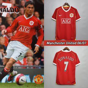 Ronaldo Man United Shirt